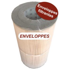 enveloppe pour cartouches filtrantes